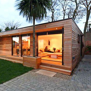 Idée maison en bois